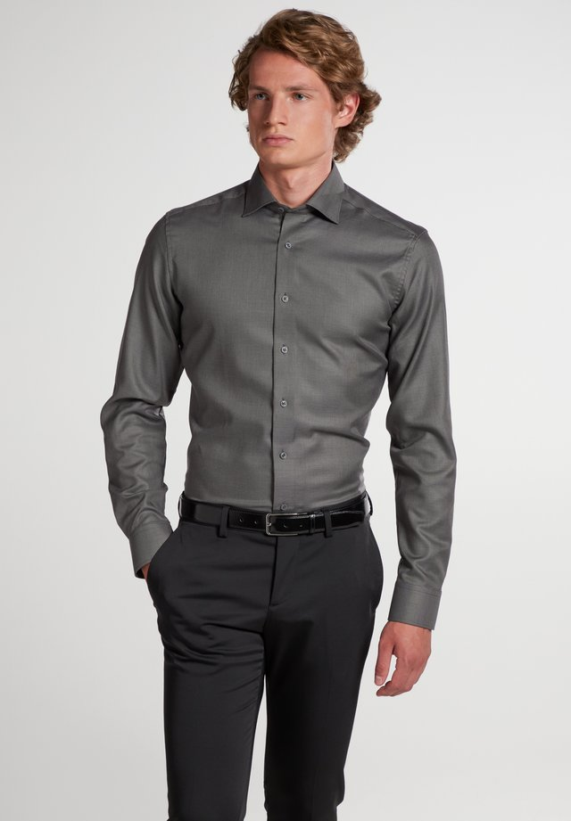 SLIM FIT CLASSIC KENT KRAGEN - Business skjorter - anthrazit