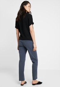 MAMALICIOUS - MLPLAYA PANTS - Trousers - ombre blue - 2