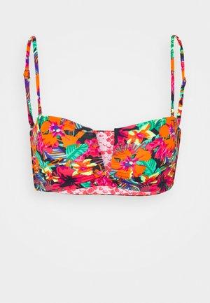 DUA FIESTA FLICKER - Bikini top - multicolor
