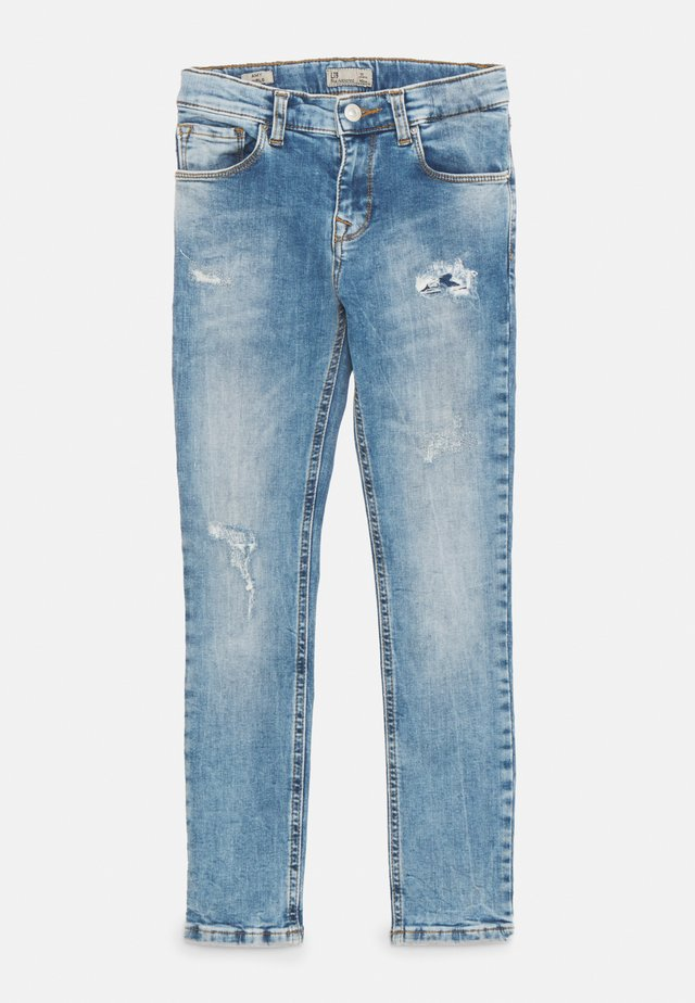 AMY - Slim fit jeans - oleana wash