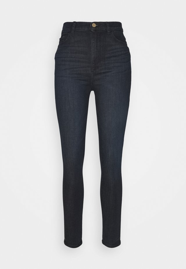 CHRISSY ANKLE HIGH RISE - Jeans Skinny - indigo