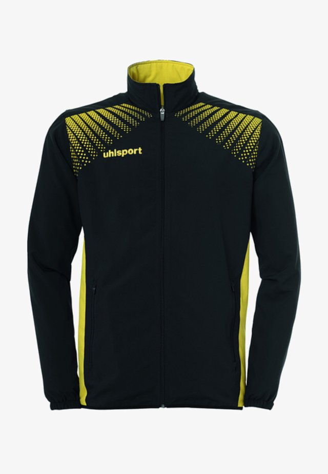 Sports jacket - schwarz / limone