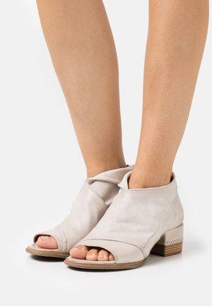 Ankle boot - grigio