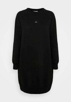 HANGOVER WIDE DRESS  - Abito in maglia - black