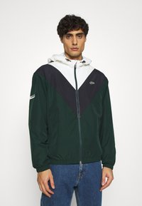 Lacoste - Summer jacket - sinople/abysm/flour - 0