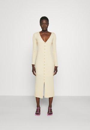 LONG DRESS - Jumper dress - gravel