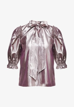 MATHILDA BLOUSE REMOVABLE TIE - Blouse - pearl