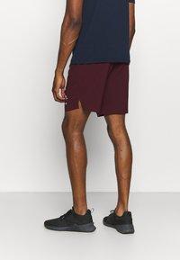 Reebok - GRAPHIC SHORT - Sports shorts - maroon - 2