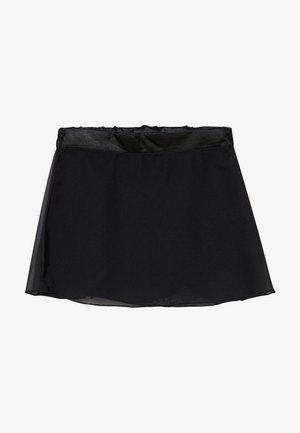 GIRLS BALLET SKIRT - Sports skirt - black