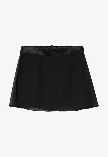 GIRLS BALLET SKIRT - Sportovní sukně - black