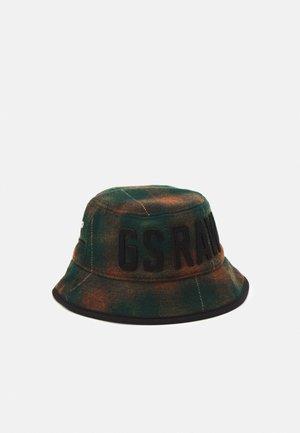 WOOL CHECK BUCKET HAT UNISEX - Hat - laub harper