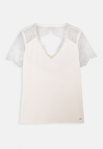 DEXIA - Print T-shirt - ivoire