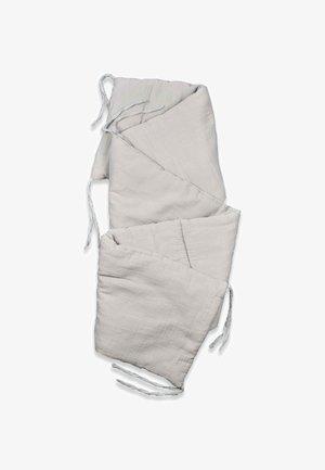 MUSLIN BUMPER SET  - Zavinovací deka - grey