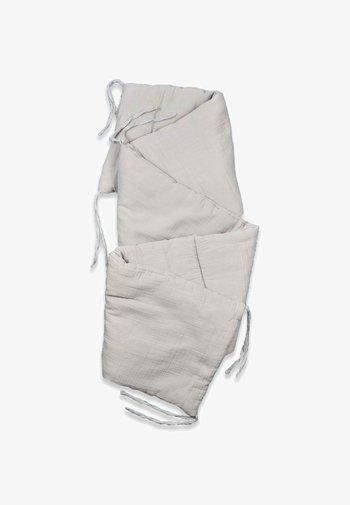 MUSLIN BUMPER SET  - Muslin blanket - grey