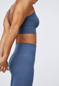 OYSHO - SEAMLESS - Legginsy - dark blue - 4