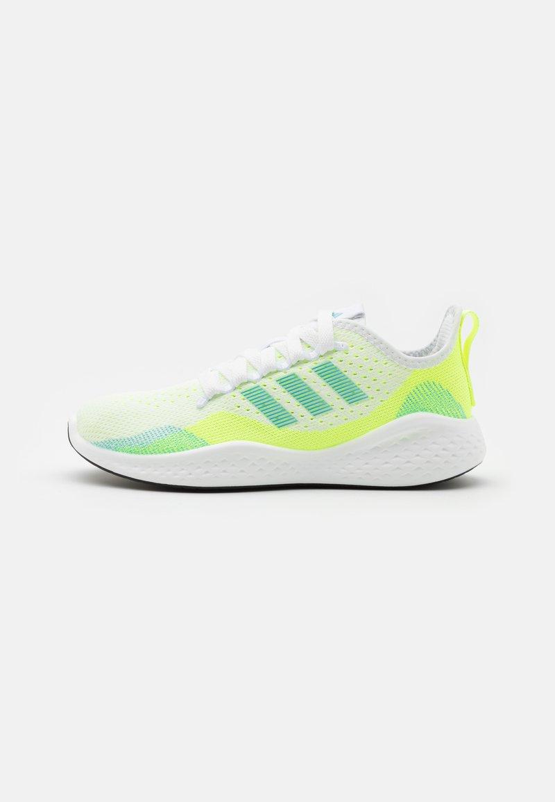 adidas Performance - FLUIDFLOW 2.0 - Zapatillas de entrenamiento - footwear white/hazy sky/hi-res yellow