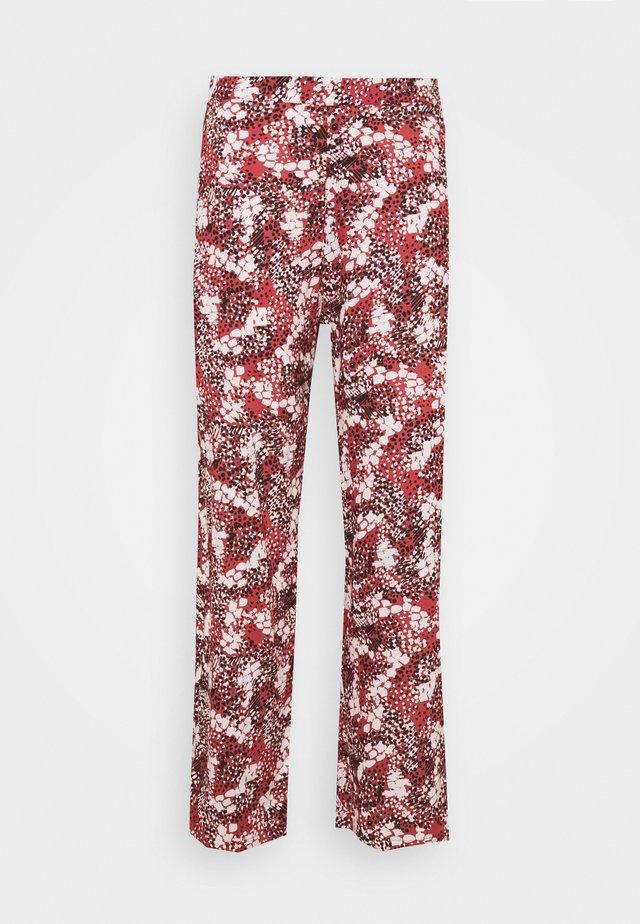 CARBANDI LIFE WIDE PANT - Pantalon classique - arabian spice