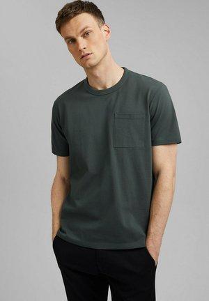 Basic T-shirt - dark teal green