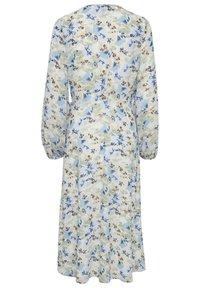 ICHI - IXADILENE - Korte jurk - cashmere blue multi color - 6