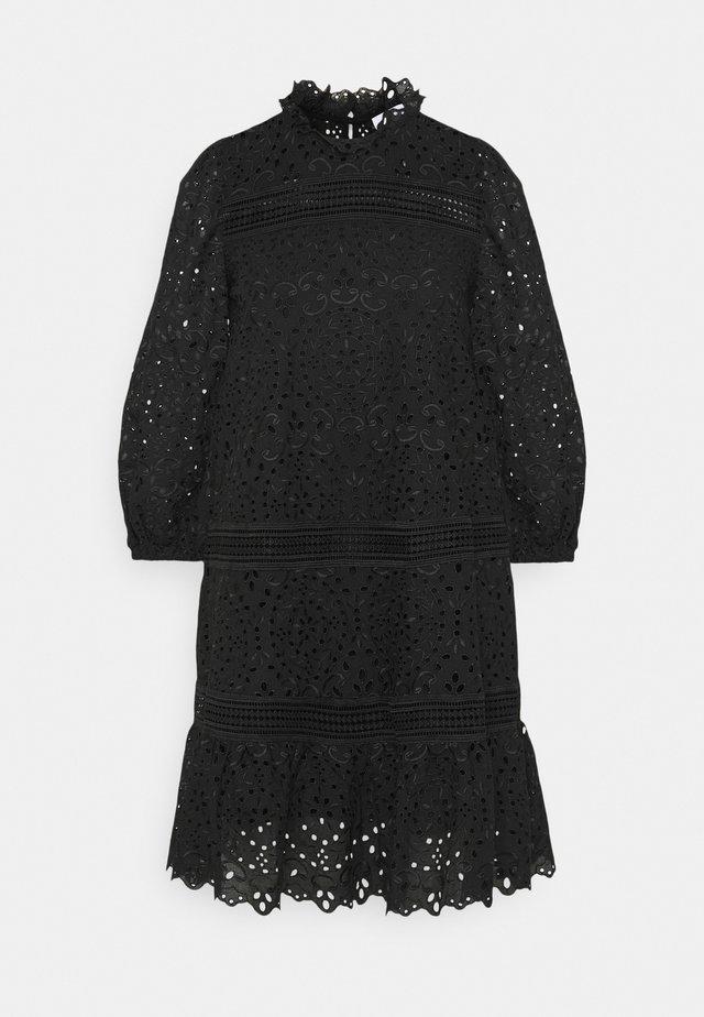 BALLOON FLOWER - Day dress - black