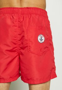 Jack & Jones - JJIARUBA SWIMSHORTS ZIP - Plavky - mars red - 1