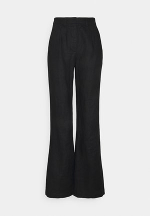FLARED PANTS - Trousers - black