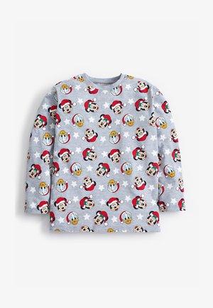 DISNEY MATCHING FAMILY KIDS CHRISTMAS T-SHIRT - Camiseta de manga larga - grey