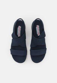 Skechers Sport - FLEX APPEAL 2.0 - Sandals - navy gore - 5