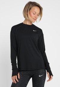 Nike Performance - CREW - Funkční triko - black/reflective silver - 0