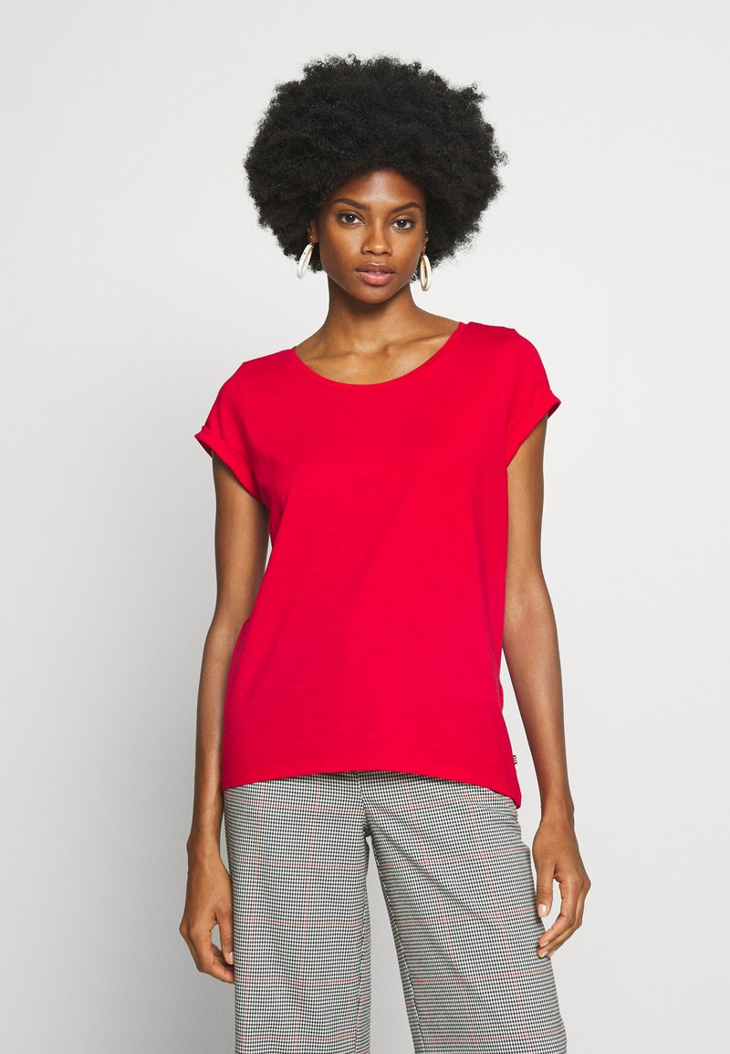 Esprit - CORE - Basic T-shirt - dark red