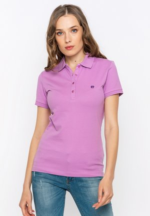 SHORT SLEEVE - Polo shirt - purple