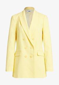 WE Fashion - Short coat - yellow - 5