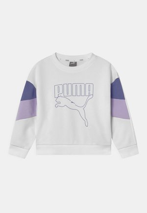 REBEL CREW UNISEX - Collegepaita - puma white