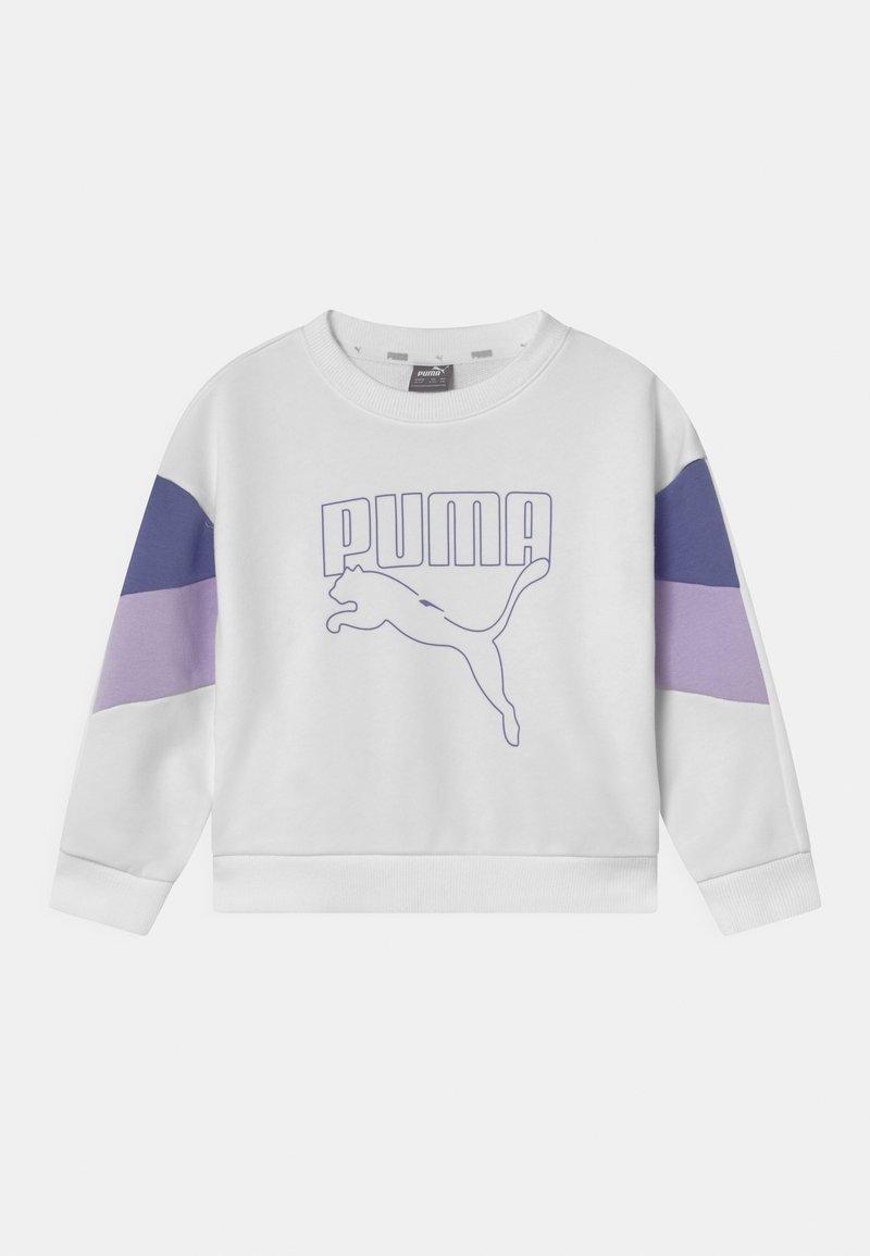Puma - REBEL CREW UNISEX - Mikina - puma white