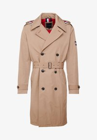 Tommy Hilfiger - HOODED TRENCHCOAT - Trenchcoat - grey - 5