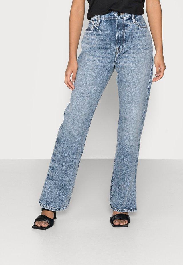 LE PIXIE DREW - Bootcut jeans - cascade blue