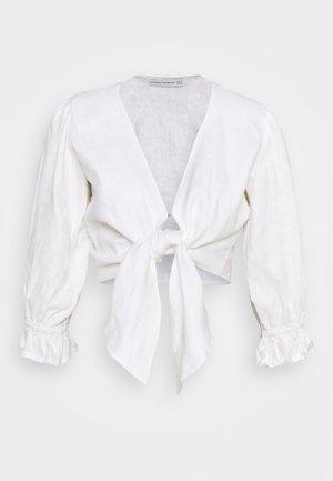 JACINTA - Long sleeved top - plain white