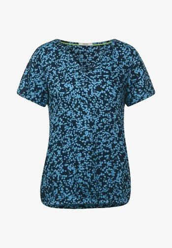 MIT MINIMAL PRINT - Blouse - blau