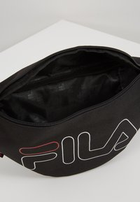 Fila - WAIST BAG SLIM - Bum bag - black - 4