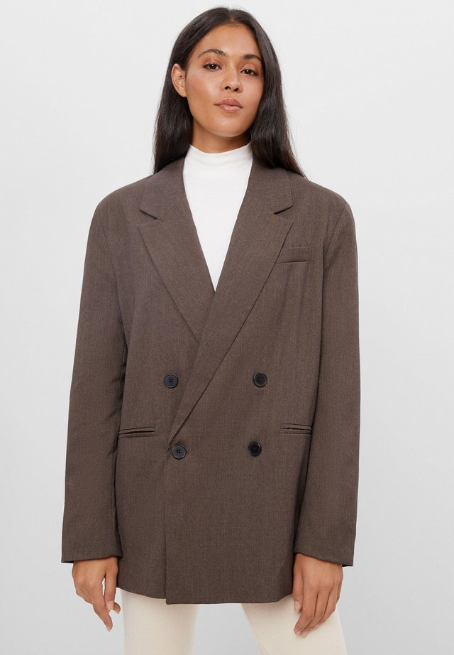 OVERSIZE - Blazer - brown