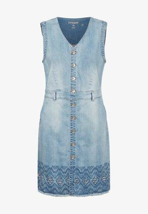 Denim dress - soft blue denim