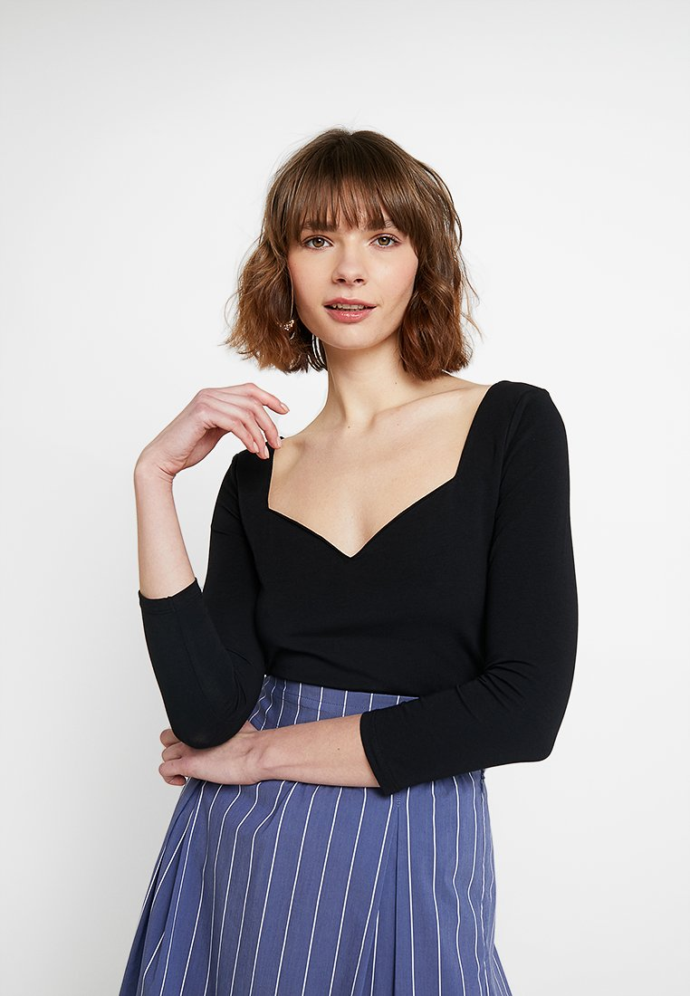 mint&berry - Langærmede T-shirts - black