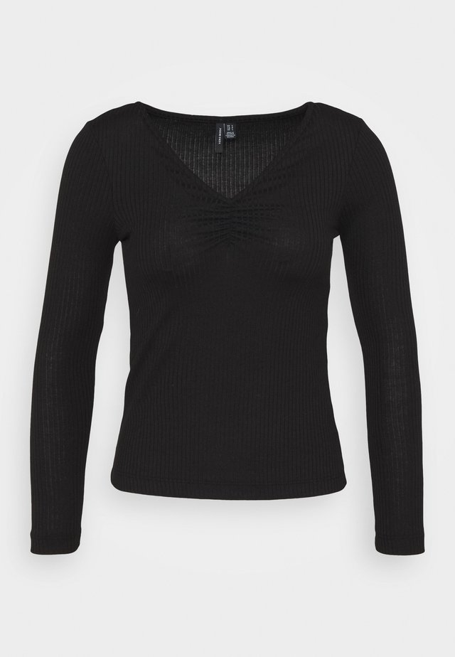 VMPOLLY NECK PETITE - Longsleeve - black