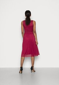 Anna Field - LACE V NECK OCCASION DRESS PURPLE POTION - Cocktail dress / Party dress - red - 2