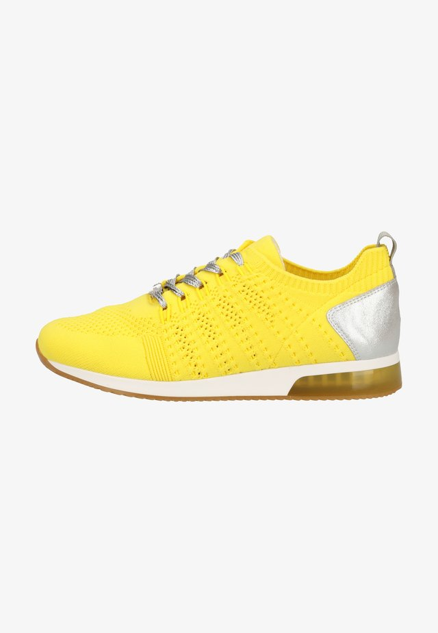Sneakers laag - citrus/Silver