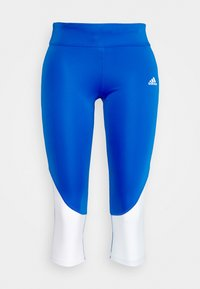 adidas Performance - OWN THE RUN - Tights - glow blue - 4