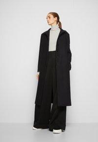 MM6 Maison Margiela - COAT - Classic coat - black - 4