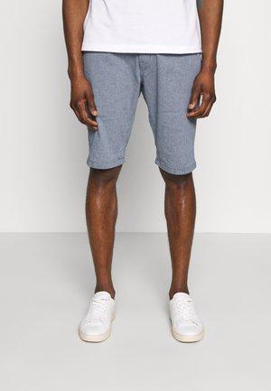 Shorts - light blue structure /blue
