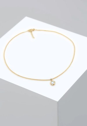 GLASS CRYSTAL - Necklace - gold-coloured