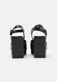 MAX&Co. - BREST - Sandalen met hoge hak - black - 3